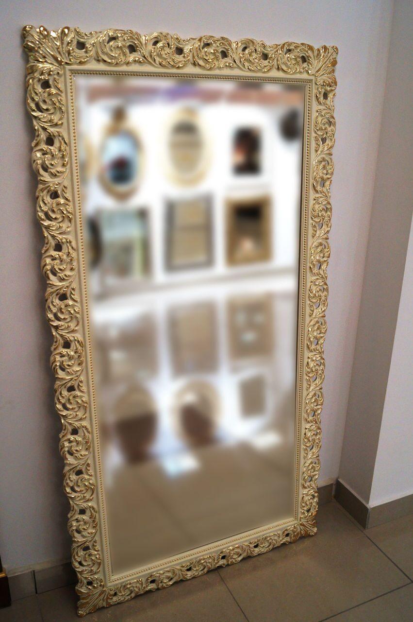 Есть старое зеркало как сделать рамку