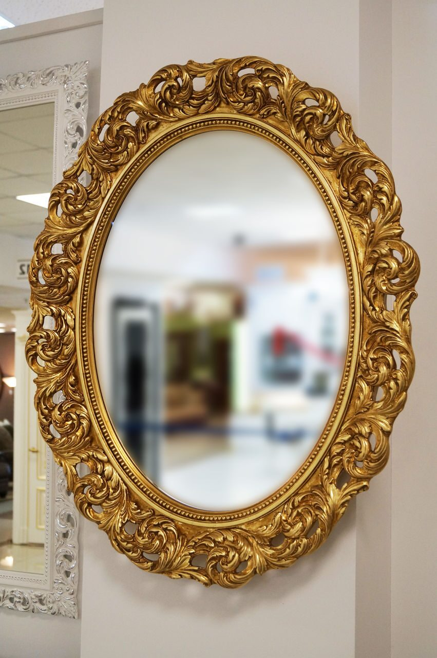 Декор зеркала своими руками: 10 мастер классов и 50 фото 40